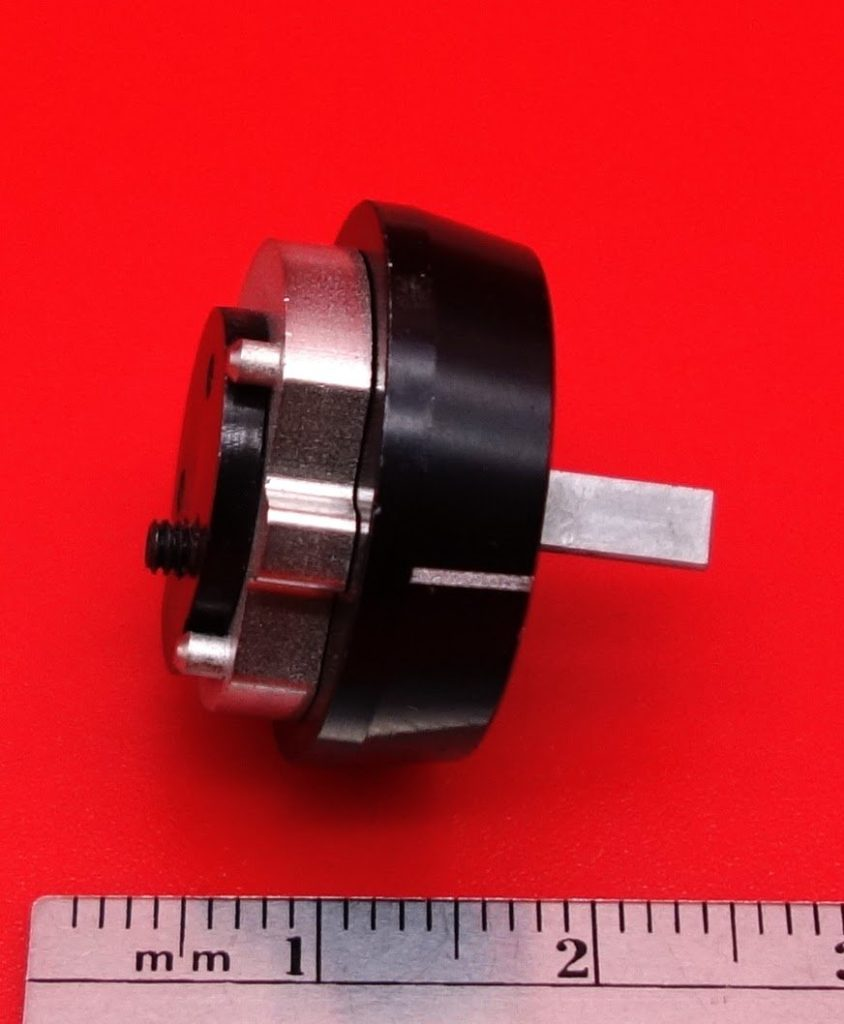 Micro planetary gear assembly lens control
