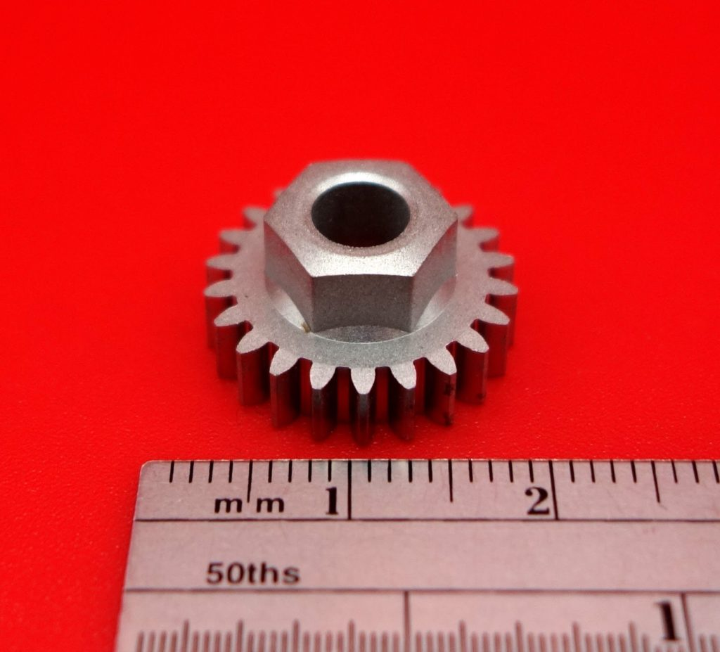 Nut and gear combination medical
