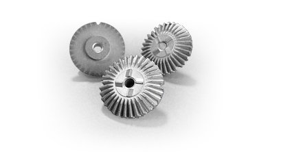 Metal Bevel Gear For A Disposable Medical Instrument