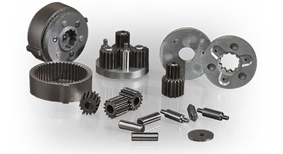 Powder Metallurgy Components For A Planetary Gearset