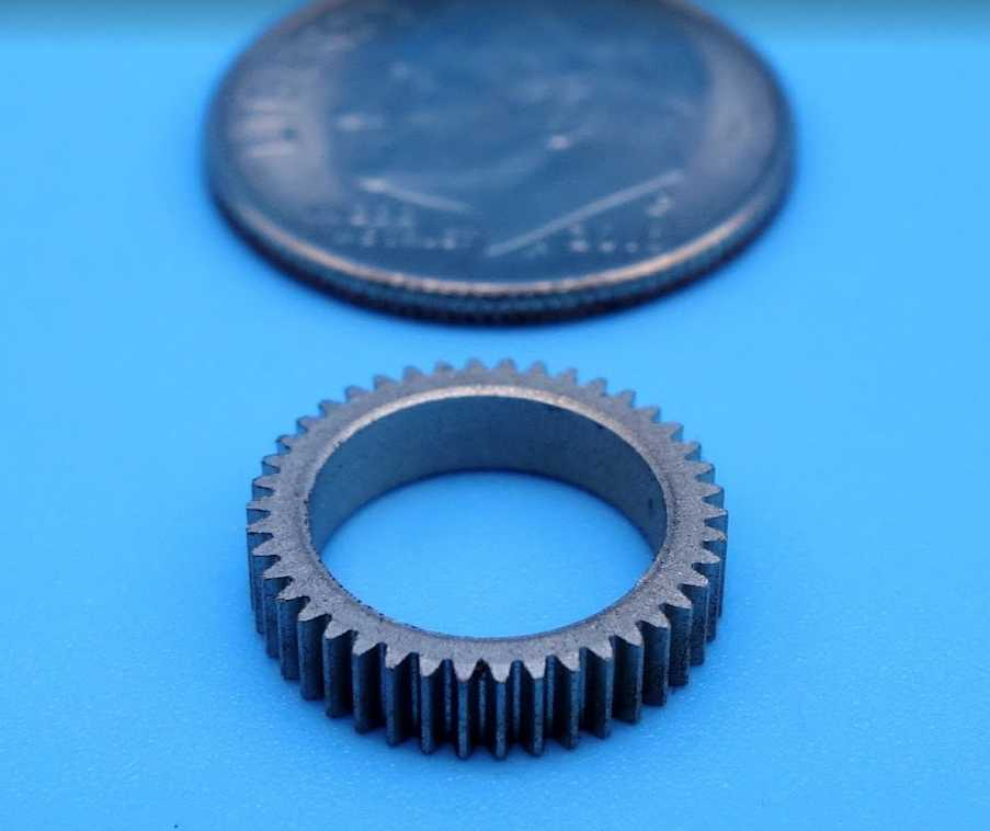 Powdered Metal Fine Pitch Gearing